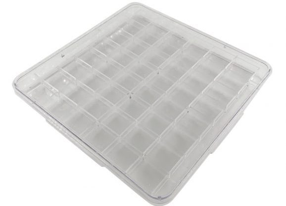 Bioassay Qtray with 48 well dividers
